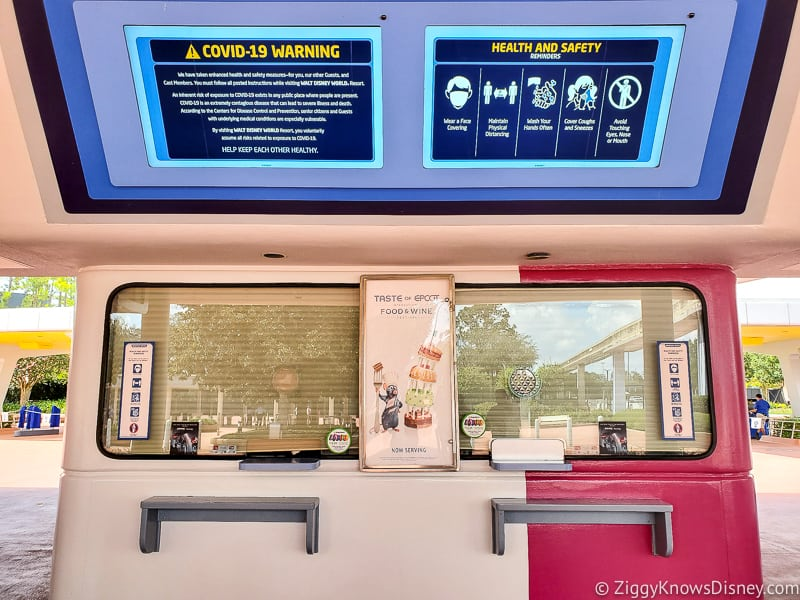 Ticket booth EPCOT