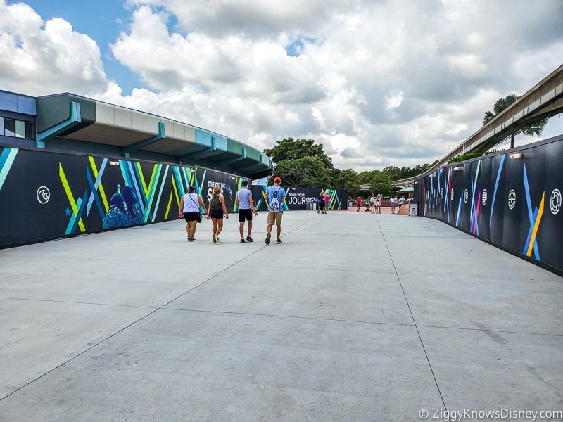 EPCOT crowds after reopening