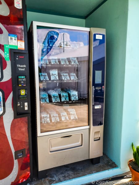 Face Mask vending machine at Disney World