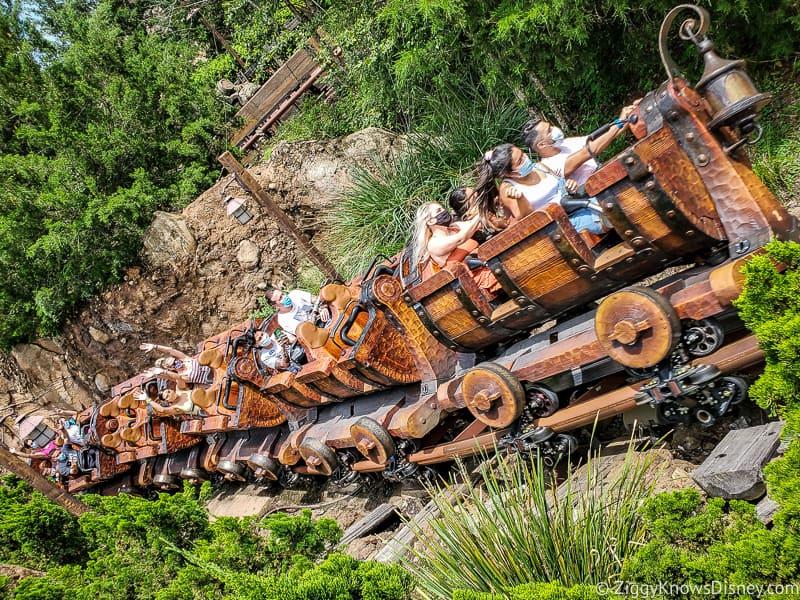 Seven Dwarfs Mine Train Magic Kingdom