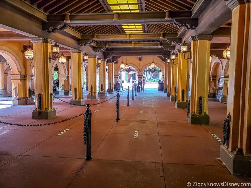 Pirates of the Caribbean queue Magic Kingdom reopening