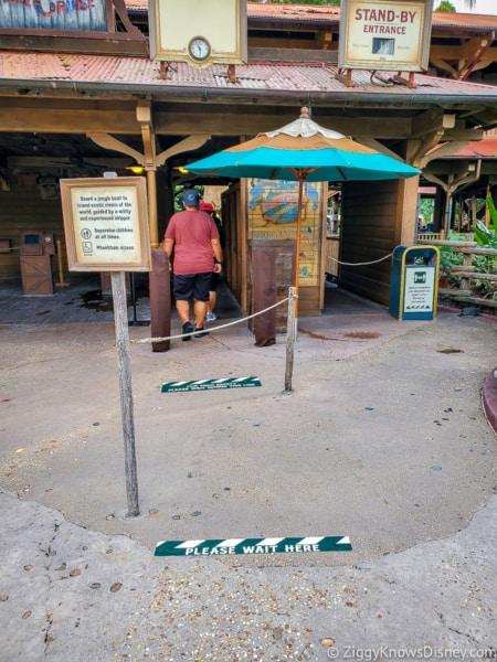 Jungle Cruise entrance Magic Kingdom reopening