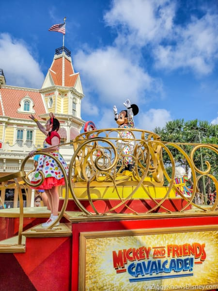 Mickey and Friends Character Cavalcade Magic Kingdom reopening