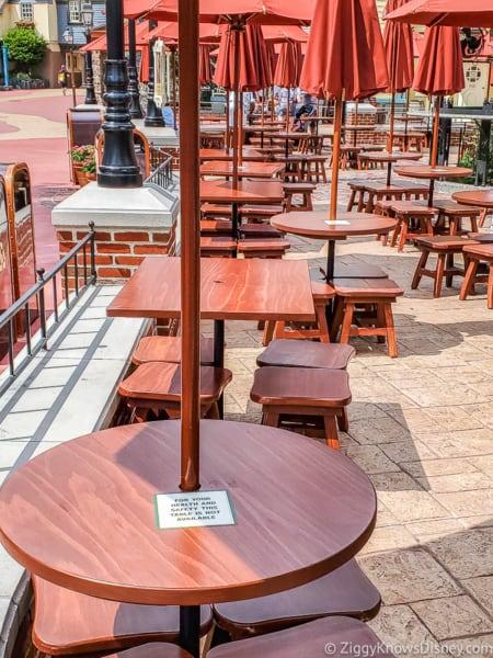 seating are Liberty Market Magic Kingdom