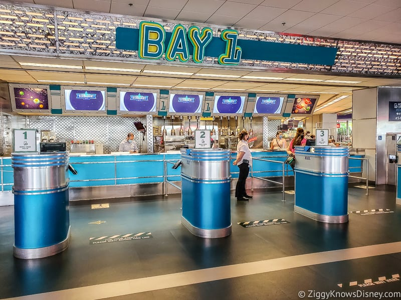 Cosmic Ray's Starlight Cafe ordering area Magic Kingdom opening