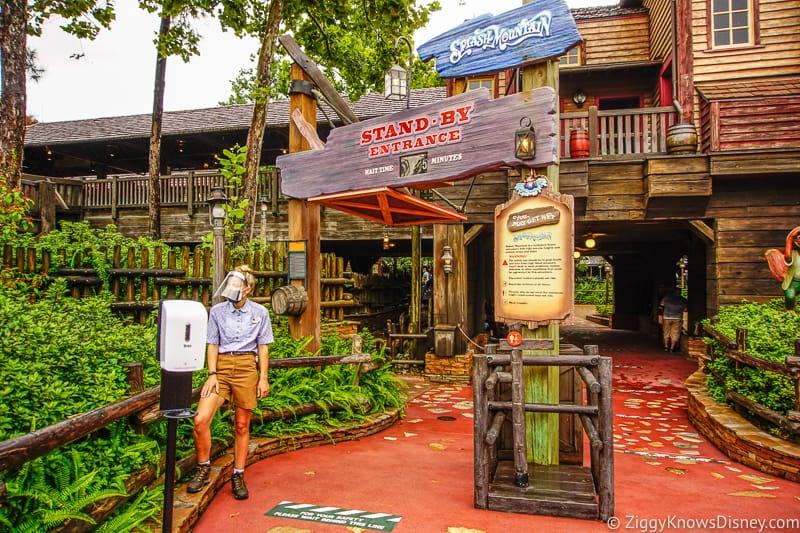 Splash Mountain entrance Magic Kingdom after reopening