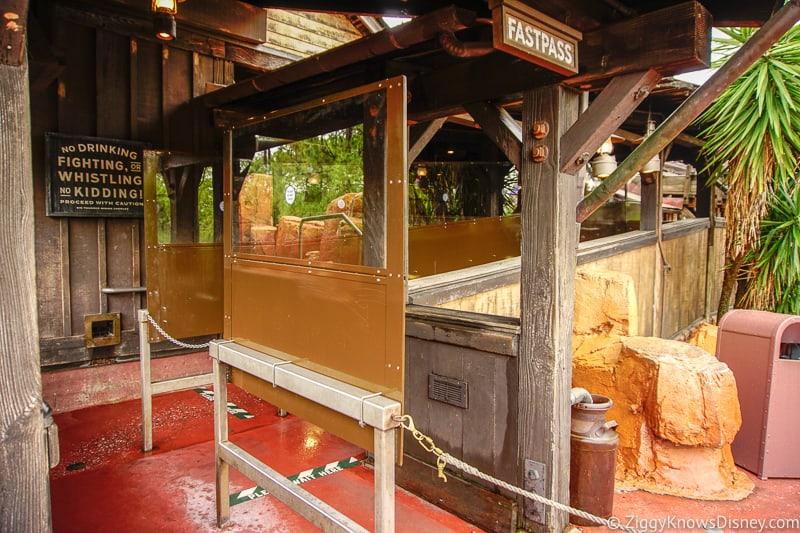 Big Thunder Mountain queue Magic Kingdom reopening
