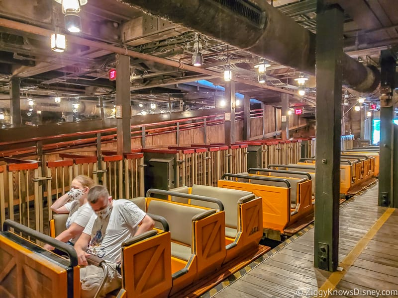 Big Thunder Mountain loading area Magic Kingdom reopening