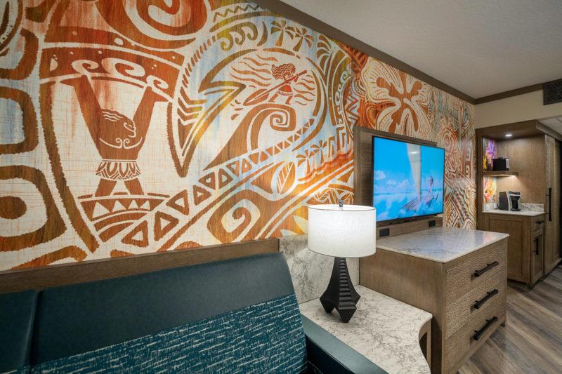 Moana rooms Polynesian Resort refurbishment