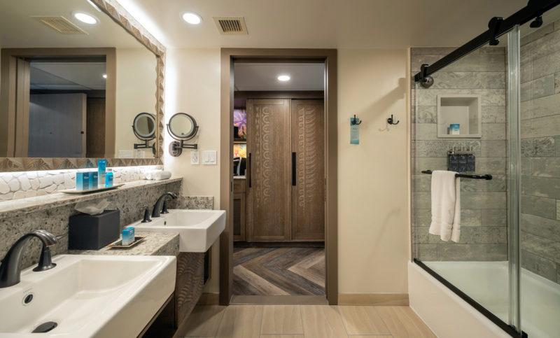 New bathrooms Polynesian Resort Moana Refurbishment