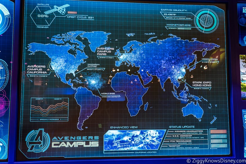 Avengers Campus Worldwide Locations