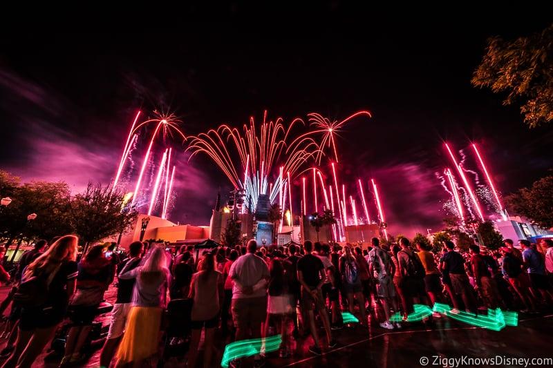 Star Wars A Galactic Spectacular Fireworks Hollywood Studios