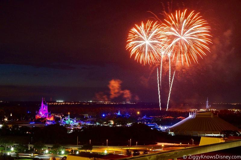 Magic Kingdom Fireworks from California Grill