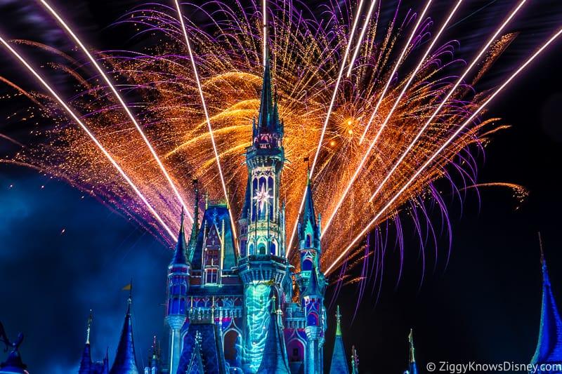 Magic Kingdom Fireworks returning