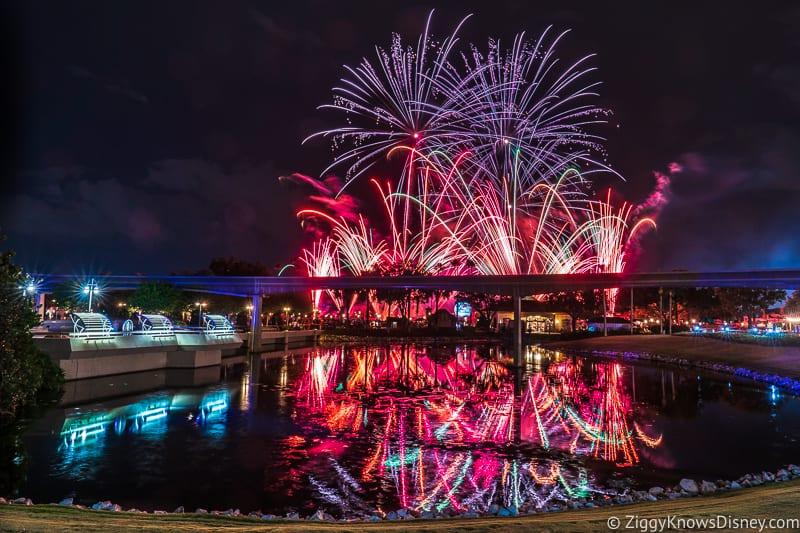 Disney World Fireworks returning