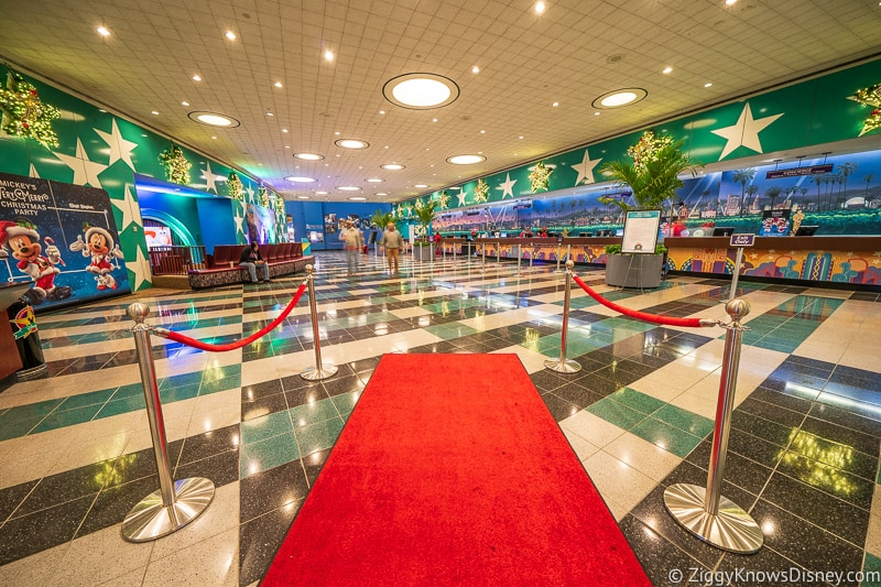 Lobby of Disney's All-Star Movies Resort