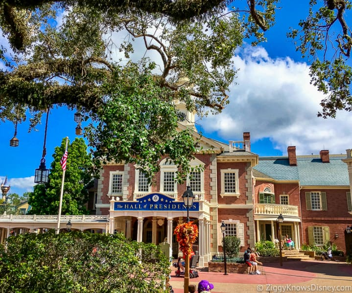 Hall of Presidents in Liberty Square at Disney's Magic Kingdom Park