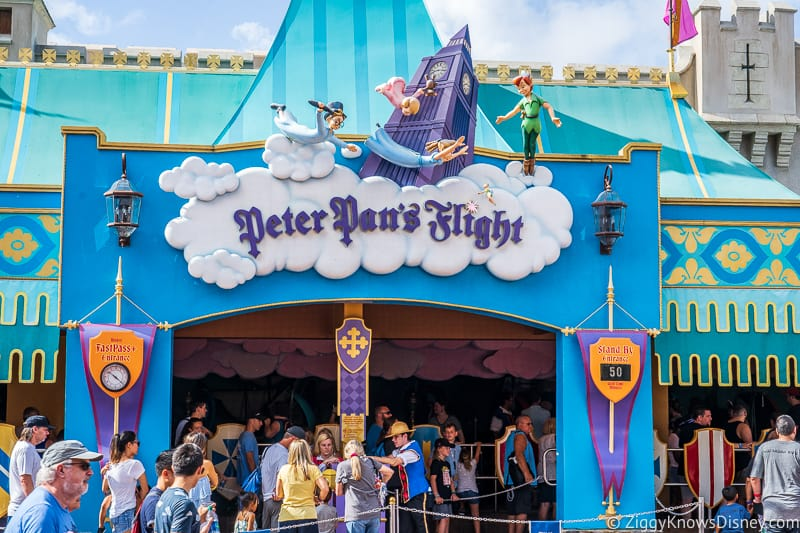 Peter Pan's Flight Fantasyland Disney's Magic Kingdom Park