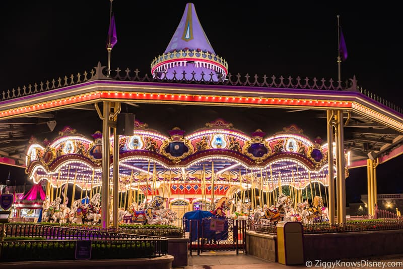 Prince Charming Regal Carousel Magic Kingdom Park