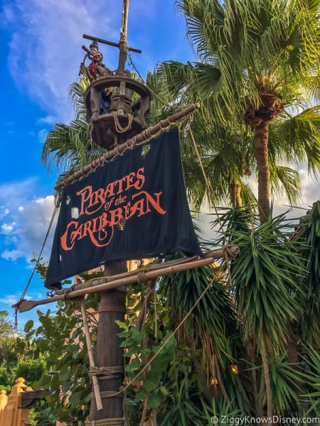 Disney's Magic Kingdom Pirates of the Caribbean