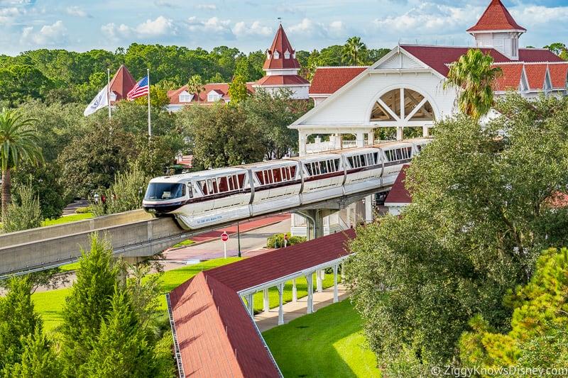 Monorail at Grand Floridian Resort