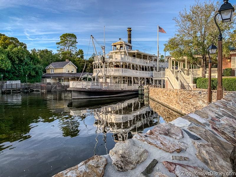 Liberty Square Riverboat Magic Kingdom Park