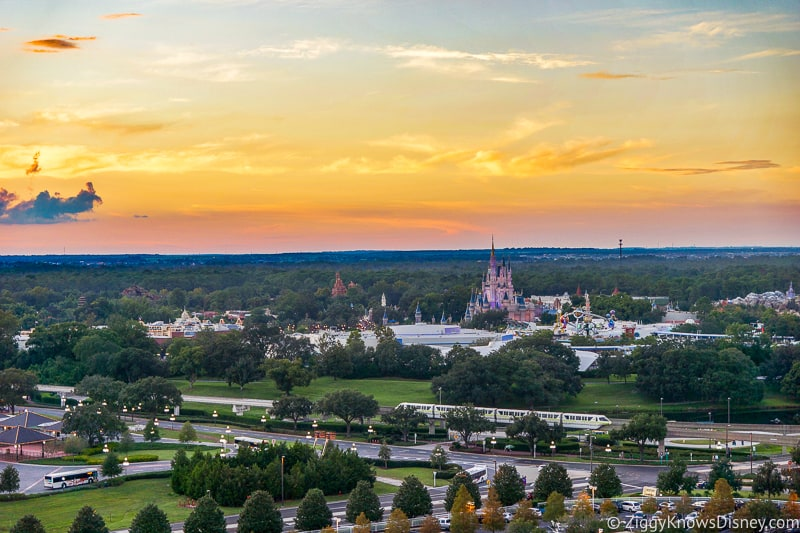 View of Magic Kingdom Park from Contemporary Resort
