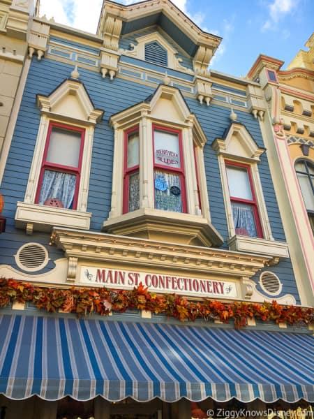 Windows on Main Street, U.S.A. Magic Kingdom