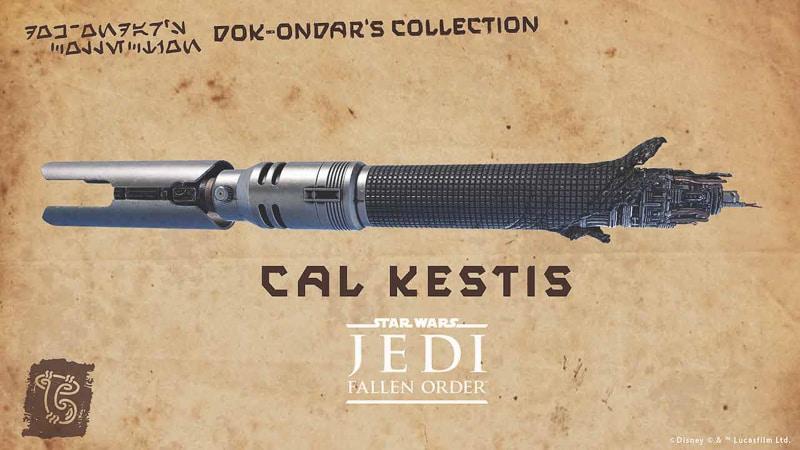Cal Kestis Legacy Lightsaber Dok Ondar's