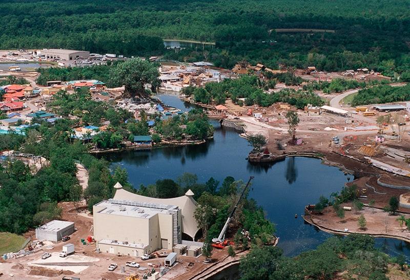 Disney's Animal Kingdom under construction 1997