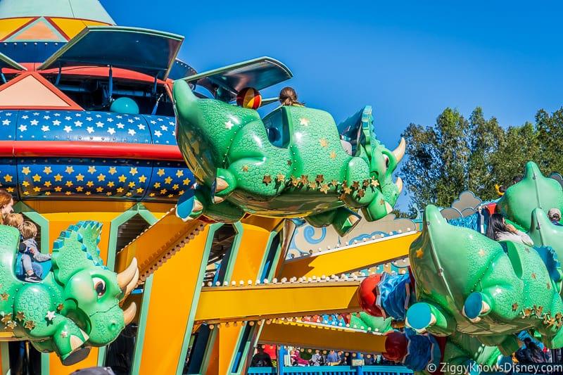 TriceraTop Spin Disney's Animal Kingdom