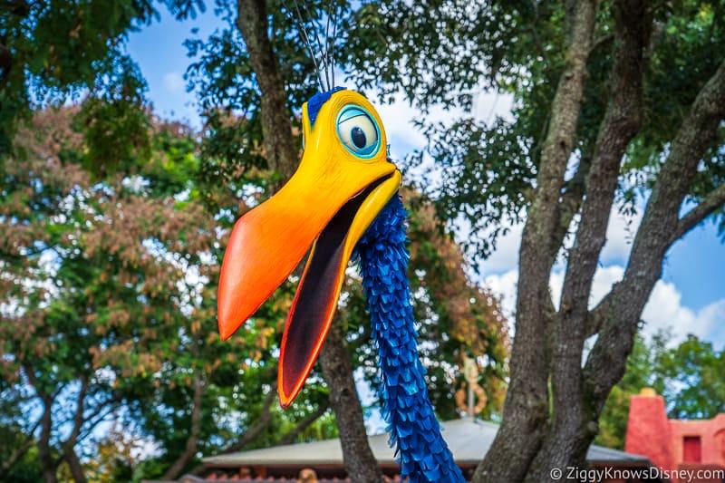 Kevin walk around character at Disney's Animal Kingdom