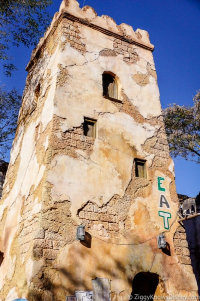 crumbling building at Animal Kingdom