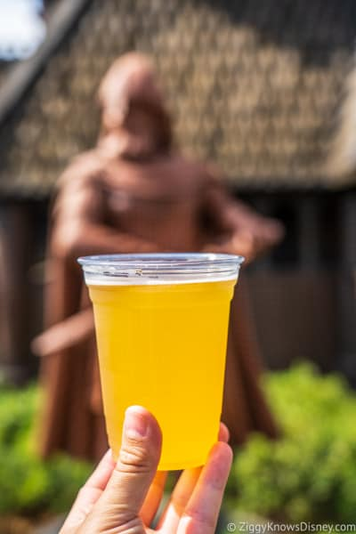 Drinking Beer in EPCOT