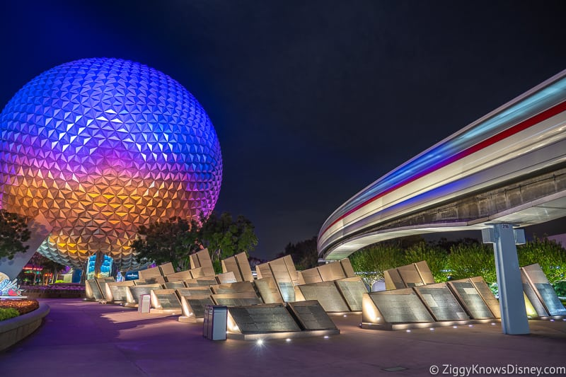 EPCOT Tips with Spaceship Earth and the Monorail