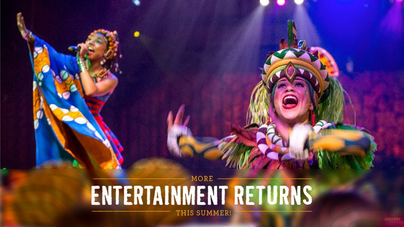 Festival of the Lion King returns to Disney World