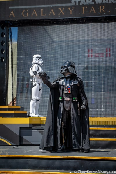 Darth Vader Hollywood Studios A Galaxy Far Far Away
