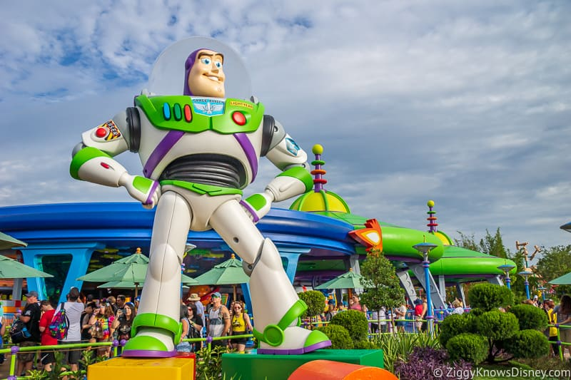 Buzz Lightyear statue Toy Story Land