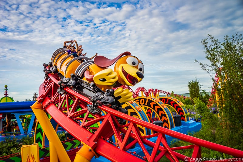 Slinky Dog Dash Hollywood Studios