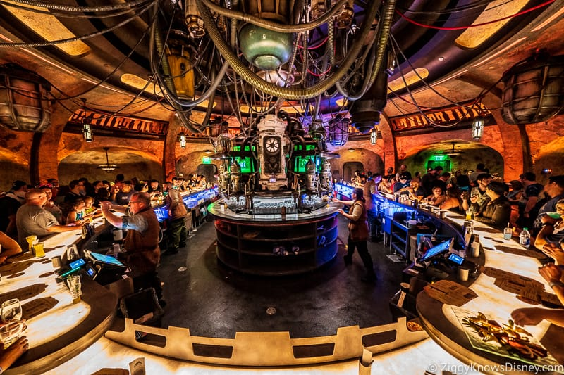 Bar at Oga's Cantina