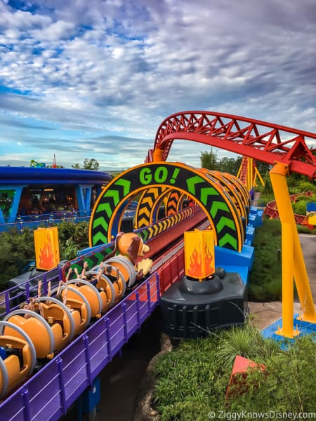 Slinky Dog Dash launch Hollywood Studios