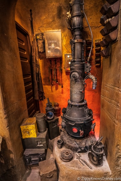 stove in Galaxy's Edge Hollywood Studios