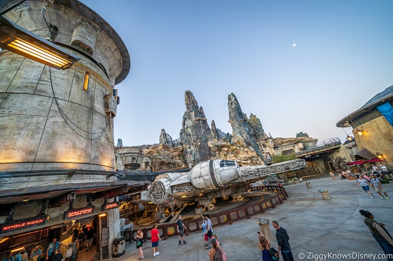 Millennium Falcon Galaxy's Edge Hollywood Studios
