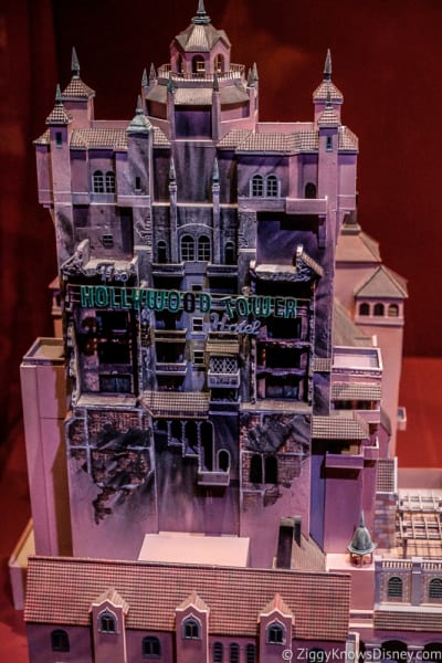 Tower of Terror model Hollywood Studios