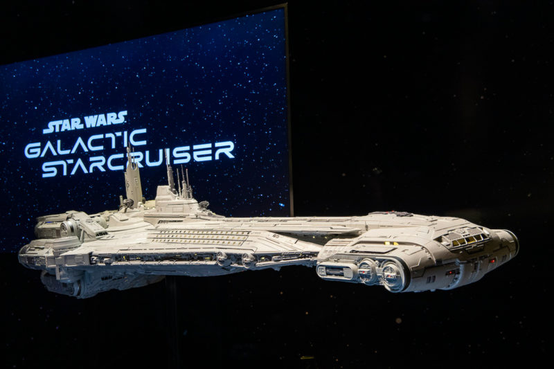 Star Wars Galactic Starcruiser Model