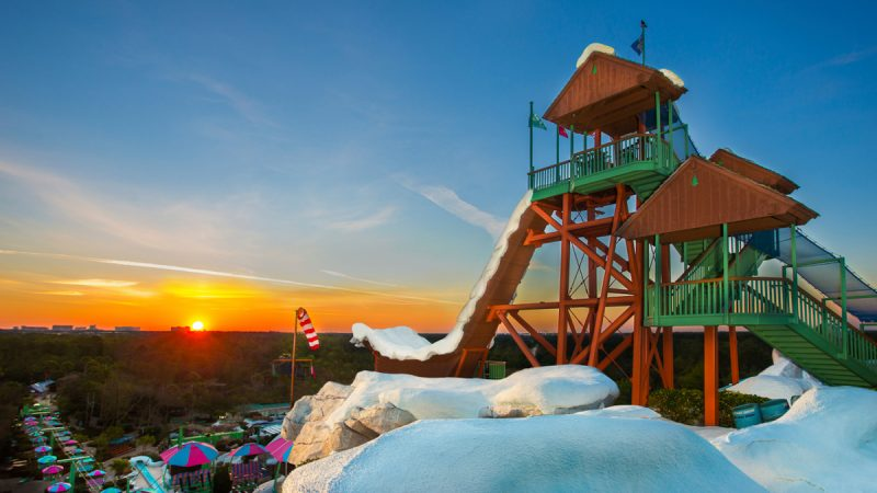 Blizzard Beach Sunset