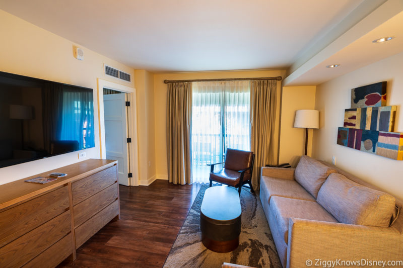 2 bedroom suite Wilderness Lodge