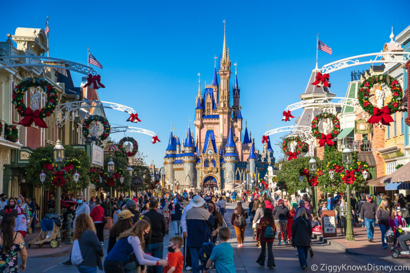When to visit Disney World