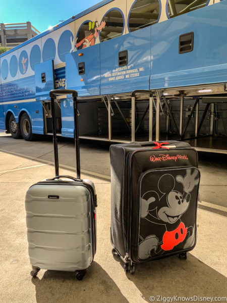 Packing bags for Disney Vacation