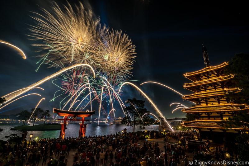 Japan EPCOT fireworks